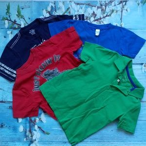 The Children's Place Boy Lot of 4 T-shirts